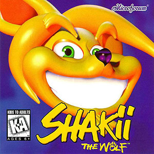Portada de la descarga de Shakii the Wolf