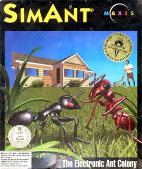 Carátula del juego SimAnt (PC)
