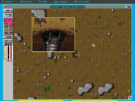 Pantallazo del juego online SimAnt (PC)