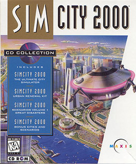 Juego online SimCity 2000: CD Collection (PC)