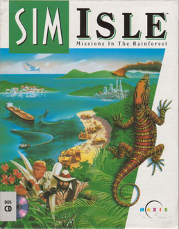 Portada de la descarga de SimIsle: Missions in the Rainforest