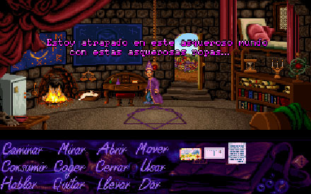 Pantallazo del juego online Simon the Sorcerer full cd (PC)