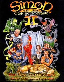 Portada de la descarga de Simon the Sorcerer II