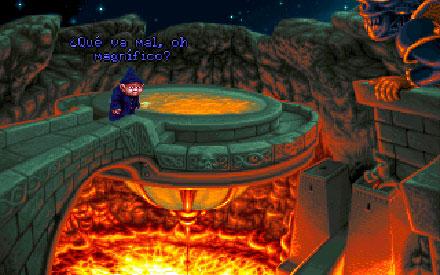 Pantallazo del juego online Simon the Sorcerer II (PC)