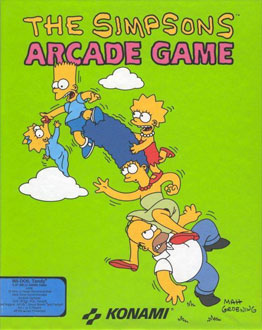 Juego online The Simpsons Arcade Game (PC)