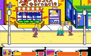 Pantallazo del juego online The Simpsons Arcade Game (PC)