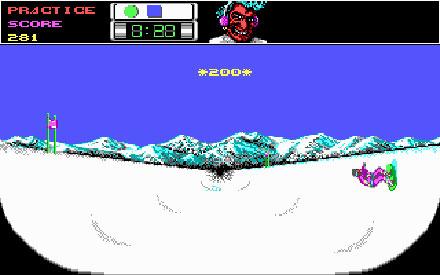 Pantallazo del juego online Ski or Die (PC)