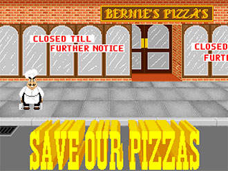 Portada de la descarga de Skunny Save our Pizzas