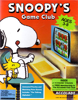 Juego online Snoopy's Game Club (PC)