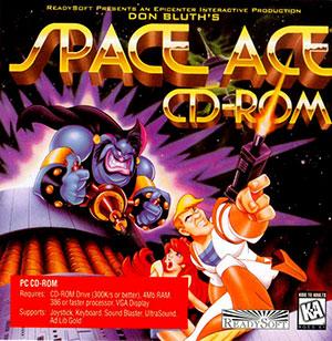 Portada de la descarga de Space Ace