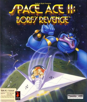 Portada de la descarga de Space Ace II: Borf's Revenge