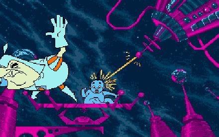 Pantallazo del juego online Space Ace II Borf's Revenge (PC)