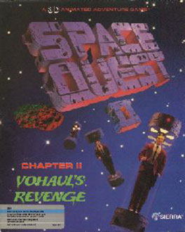Juego online Space Quest II: Vouhaul's Revenge (PC)