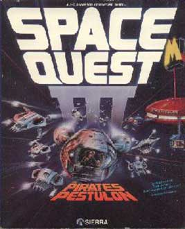 Juego online Space Quest III: The Pirates of Pestulon (PC)