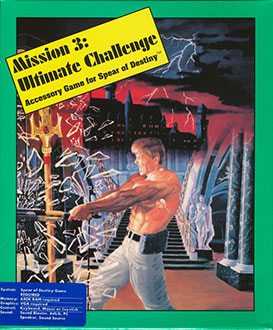 Portada de la descarga de Mission 3: Ultimate Challenge – Accessory Game for Spear of Destiny