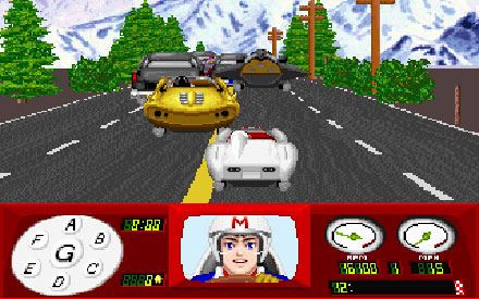 Pantallazo del juego online Speed Racer in The Challenge of Racer X (PC)