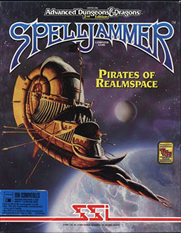 Juego online Advanced Dungeons & Dragons: Spelljammer -- Pirates of Realmspace (PC)