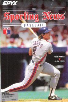 Portada de la descarga de The Sporting News Baseball