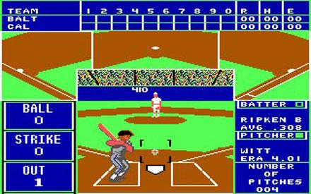 Pantallazo del juego online The Sporting News Baseball (PC)