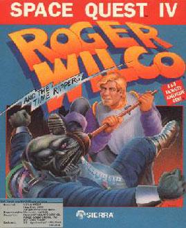 Portada de la descarga de Space Quest IV – Roger Wilco and the Time Rippers
