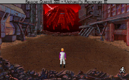 Pantallazo del juego online Space Quest IV - Roger Wilco and the Time Rippers (PC)