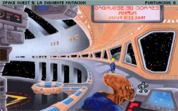 Imagen de la descarga de Space Quest V: The Next Mutation