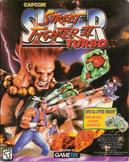 Carátula del juego Super Street Fighter II Turbo (PC)