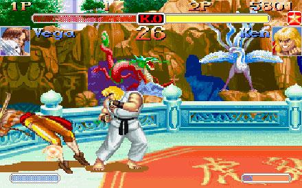 Pantallazo del juego online Super Street Fighter II Turbo (PC)