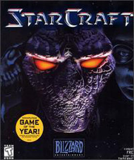 Portada de la descarga de StarCraft y StarCraft Brood War