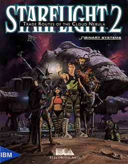 Juego online Starflight II: Trade Routes of the Cloud Nebula (PC)