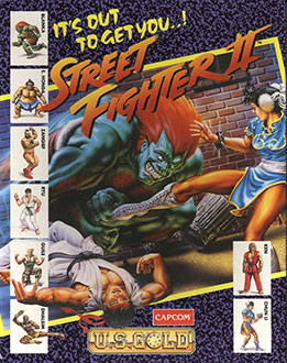 Portada de la descarga de Street Fighter II: The World Warrior
