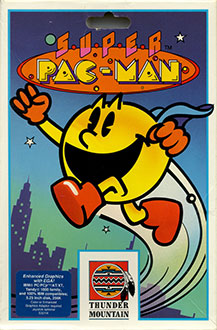 Portada de la descarga de Super Pac-Man