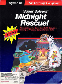 Portada de la descarga de Super Solvers: Midnight Rescue!