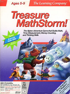 Portada de la descarga de Super Solvers: Treasure MathStorm!