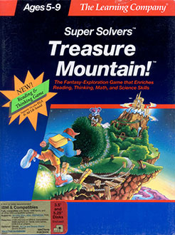 Portada de la descarga de Super Solvers: Treasure Mountain!