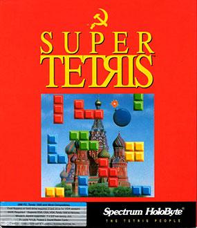 Portada de la descarga de Super Tetris