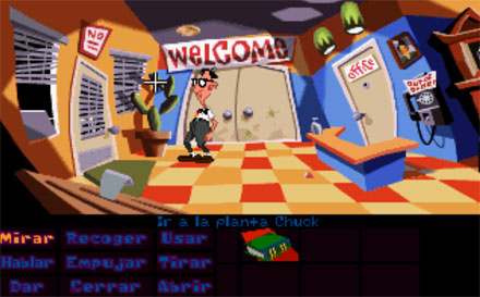 Pantallazo del juego online Day of the Tentacle (PC)