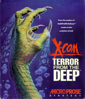 Carátula del juego X-COM - Terror from the Deep (PC)
