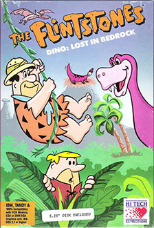Juego online The Flintstones: Dino: Lost in Bedrock (PC)