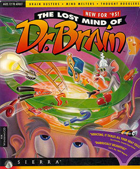 Carátula del juego The Lost Mind of Dr. Brain (PC)