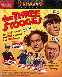 Portada de la descarga de The Three Stooges