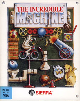 Portada de la descarga de The Incredible Machine