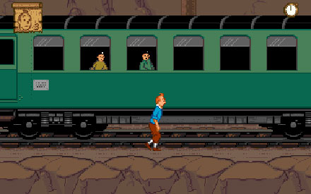 Pantallazo del juego online Tintin en el Tibet (PC)