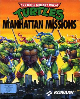 Carátula del juego Teenage Mutant Ninja Turtles - Manhattan Missions (PC)