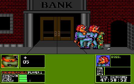 Pantallazo del juego online Teenage Mutant Ninja Turtles - Manhattan Missions (PC)