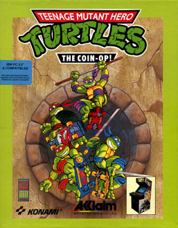 Carátula del juego Teenage Mutant Ninja Turtles 2 - The Arcade Game (PC)
