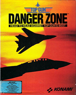 Portada de la descarga de Top Gun Danger Zone