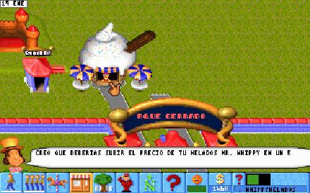 Pantallazo del juego online Theme Park (PC)