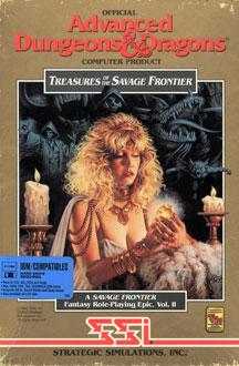 Portada de la descarga de Advanced Dungeons & Dragons – Treasures of the Savage Frontier
