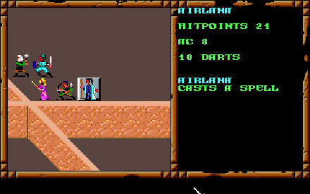 Pantallazo del juego online Advanced Dungeons & Dragons - Treasures of the Savage Frontier (PC)